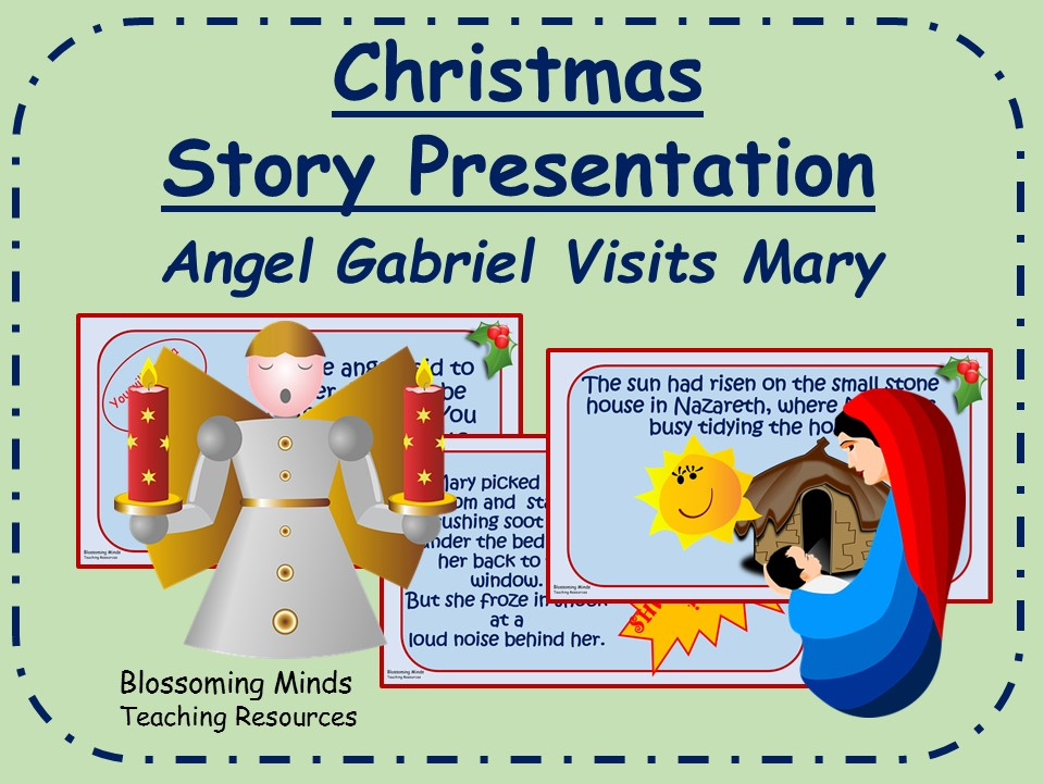 Christmas story presentation - Angel Gabriel visits Mary