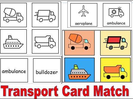 Transport Card Match