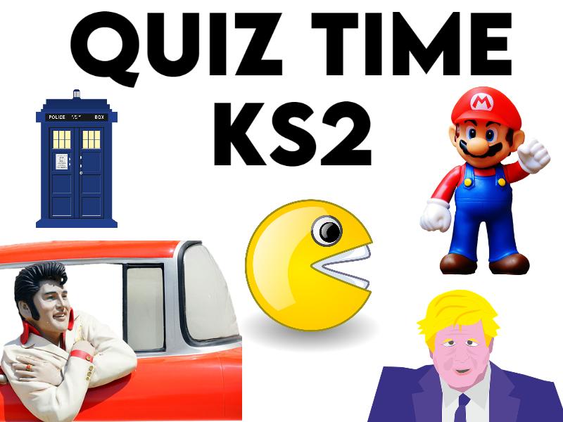 Visual Quiz Time KS2