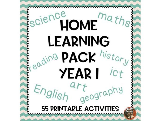 Home Learning Pack Year 1
