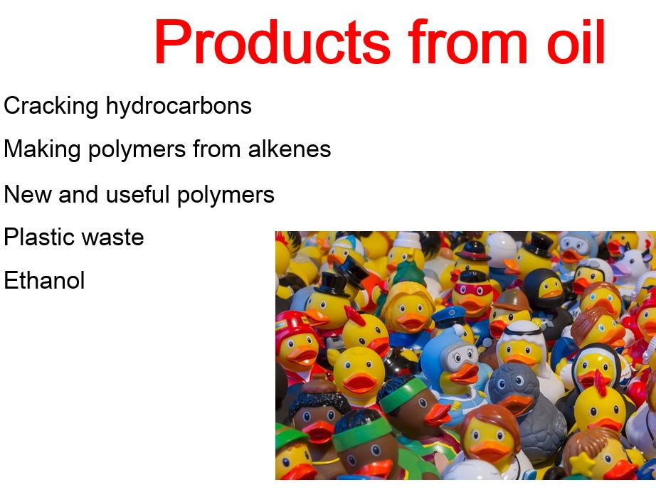Polymers and Plastics GCSE Chemistry
