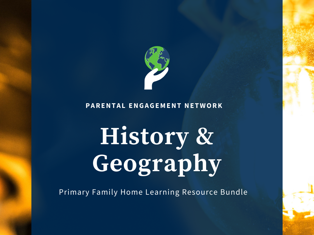 History & Geography Primary Family Home Learning Resource Bundle