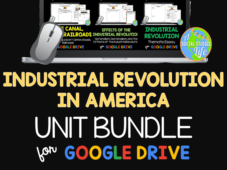 Industrial Revolution in America UNIT BUNDLE