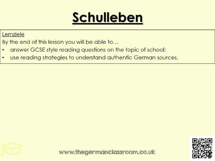 Schulleben Quiz