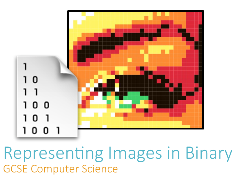 Representing Images in Binary - Teacher Presentation