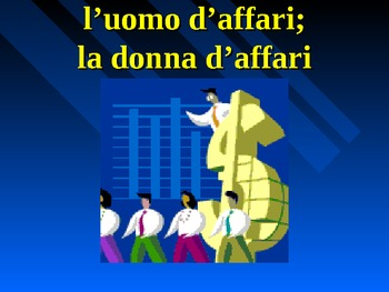 Professioni (Professions in Italian) powerpoint