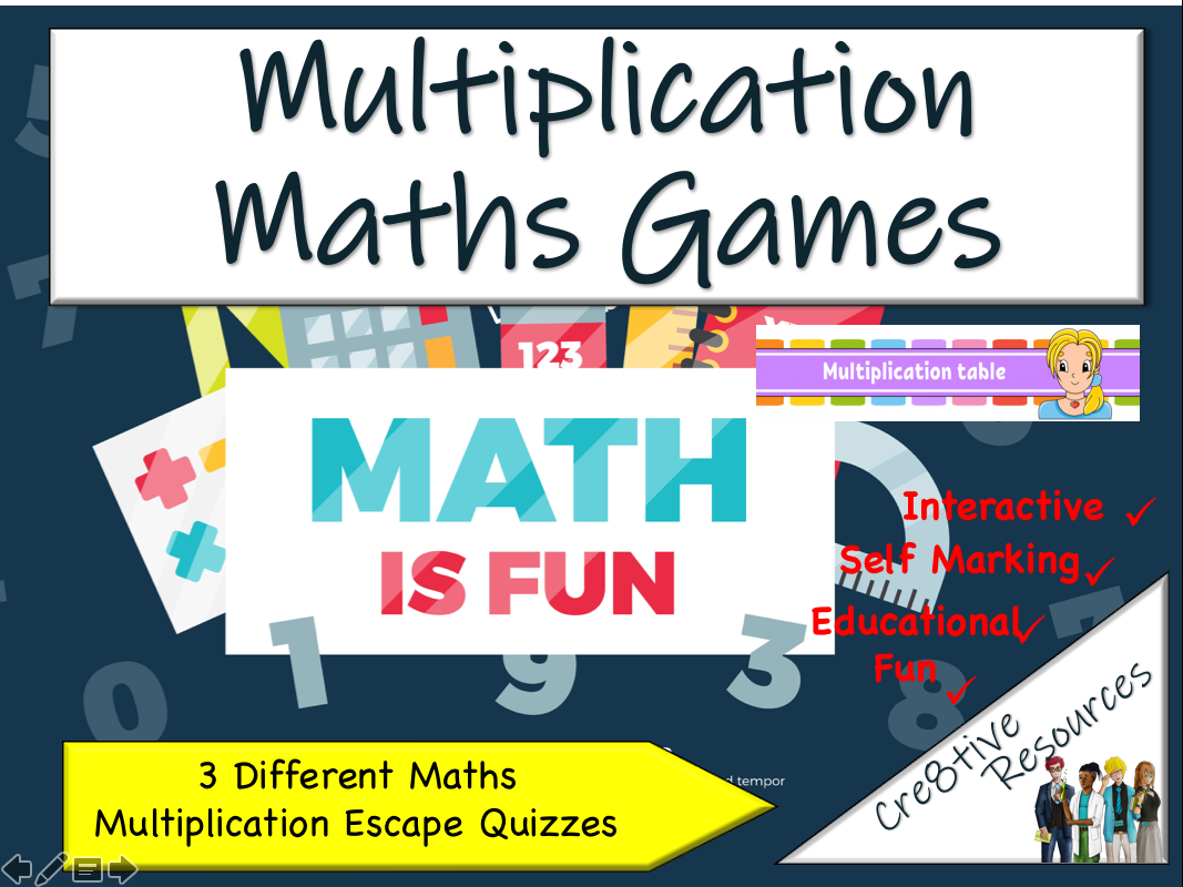 Maths - Test and Review Multiplication