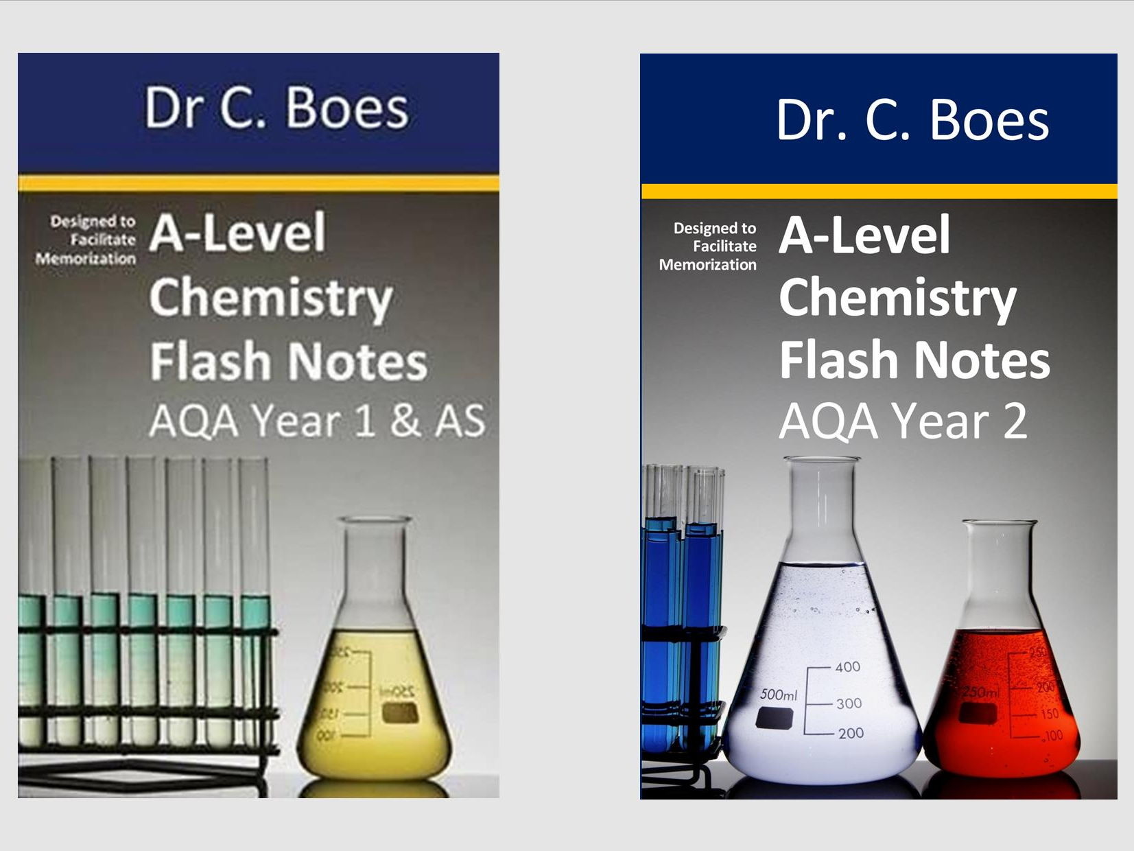 AQA Year 1 & 2 A-Level Chemistry Condensed Revision Notes (Flashcards)