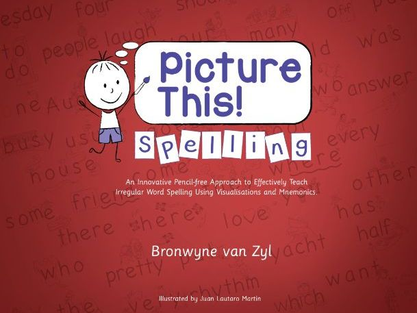 Picture This Spelling FULL Digital Programme (Including 11 word bundles with videos and stories)