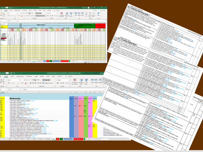 Primary Computing/ICT  Annual Planning/Assessment Record.