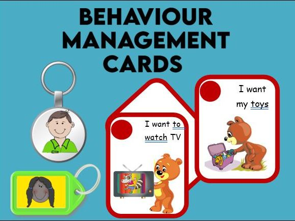 Behaviour Management Cards EYFS / SEN