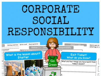 Business Ethics (Corporate Social Responsibility) - Full Lesson