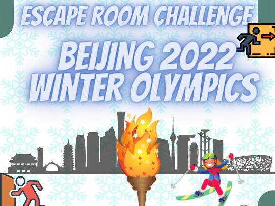 2022 Beijing Winter Olympics Escape Room
