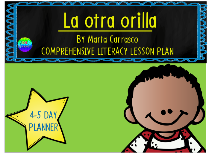 La Otra Orilla by Marta Carrasco 4-5 Day Lesson Plan