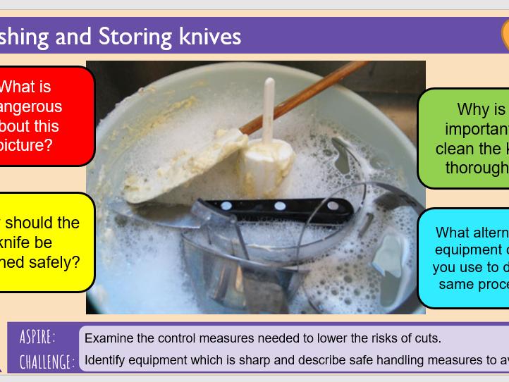 4. Hazards: Slips & Cuts