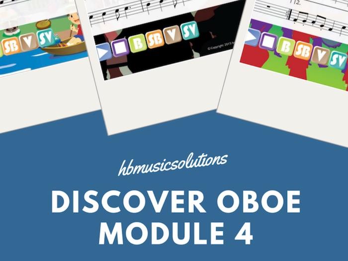 Discover Oboe Unit 4 Interactive  Module