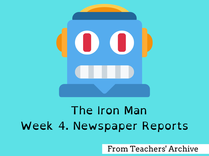 The Iron Man.Newspaper Reports