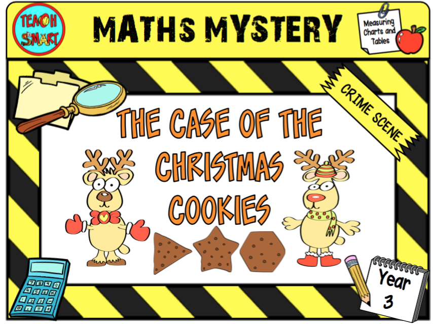 The case of the christmas cookies year 3 maths mystery