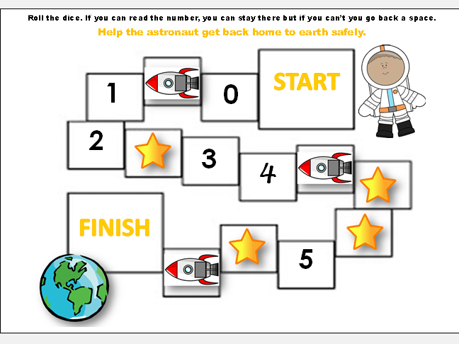 Number games to 5