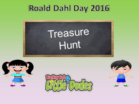 Roald Dahl Day/Week Treasure Hunt