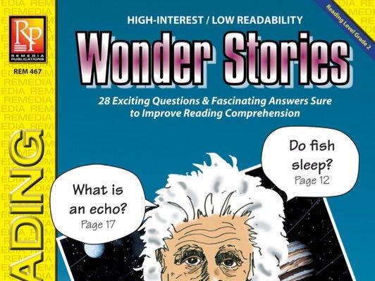 Wonder Stories {Bundle}