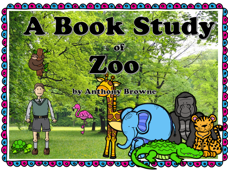 Image result for the zoo anthony browne