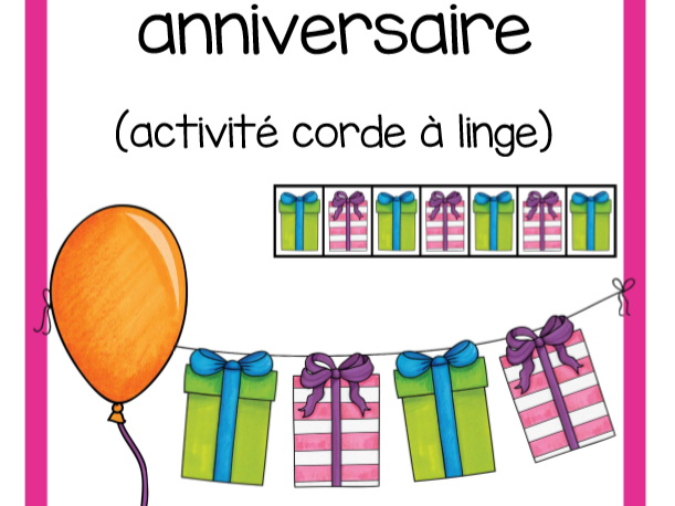 Suites anniversaire (Birthday Patterns)