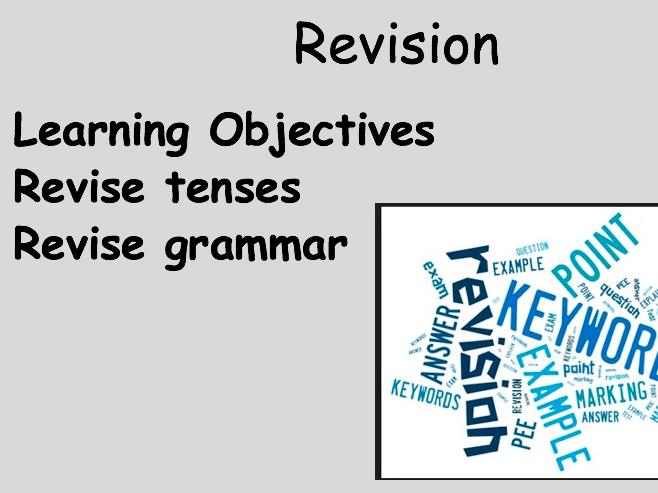 Grammar revision VIVA 3 Module 5