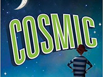 Cosmic Frank Cottrell Boyce classroom display