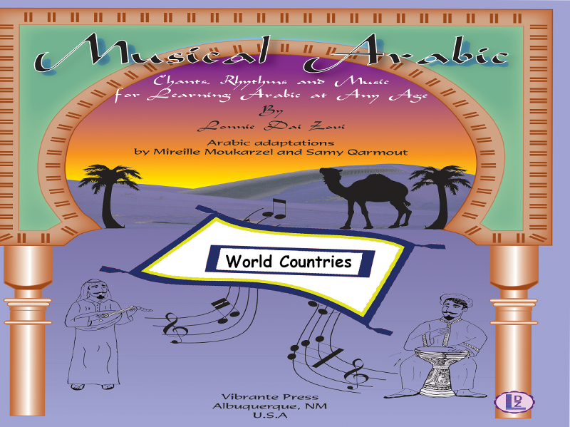 Musical Arabic - Songs/Chants - Teaching the Names and Capitals of Some World Countries