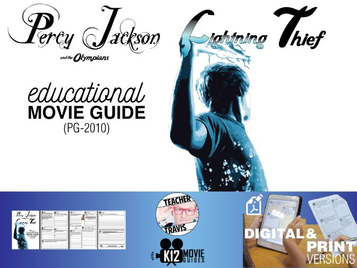 Percy Jackson & the Olympians: The Lightning Thief Movie Viewing Guide (PG-2010)