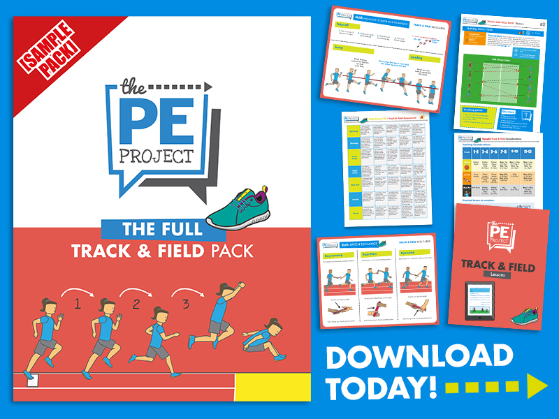 FREE: Track and Field/Athletics Pack Sample