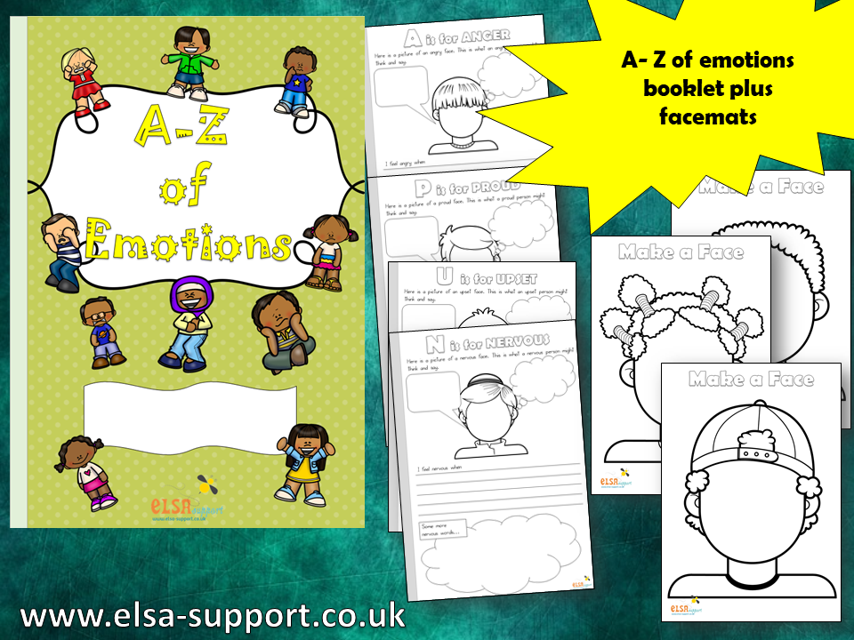 A-Z of Emotions - Emotional Intelligence, PSHE