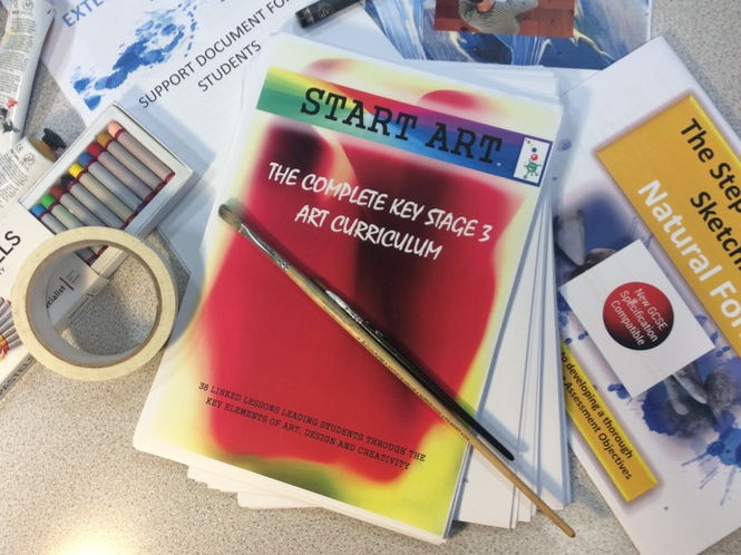 Art. The Complete Art Curriculum for 2017-18