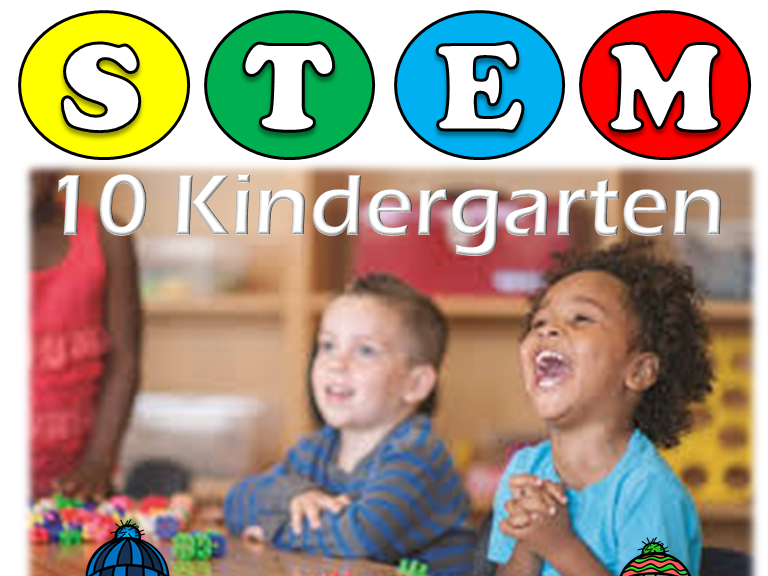 10 STEM ACTIVITIES : PRE K AND KINDERGARTEN: Critical Thinking & Problem Solving