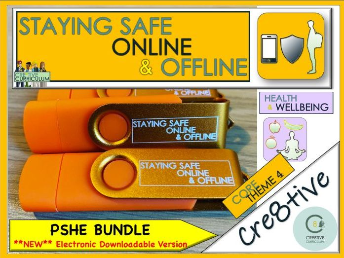 PSHE + Health + Life Skills Orange Bundle Planning