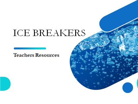 Icebreakers for Teachers