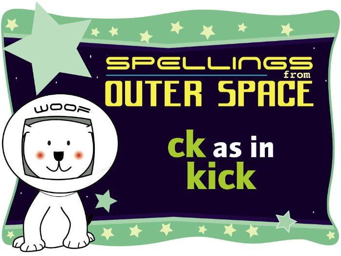 Year 1 Spellings: CK as in KICK