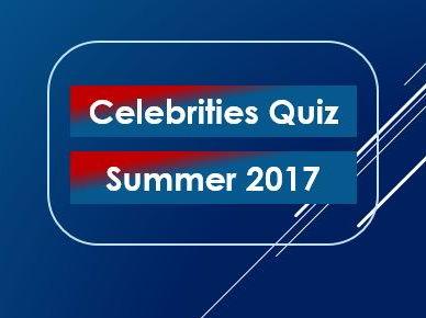 Quiz 2017: Celebrities: