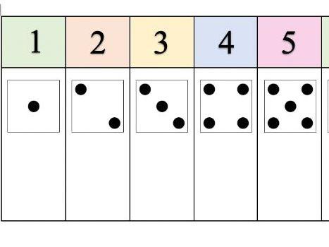 1-10 number track