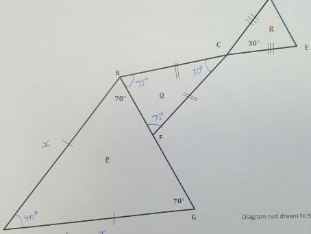New GCSE Problem Solving: Problem 2 - A Trio of Triangles (Grade 7/8)