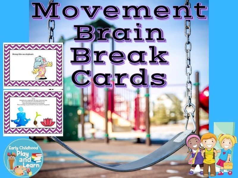 Physical Development Brain Break Cards