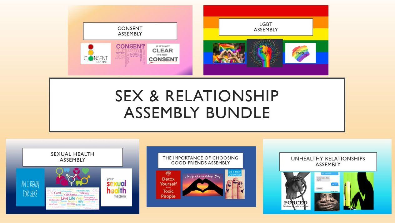Sex & Relationships Assembly Bundle