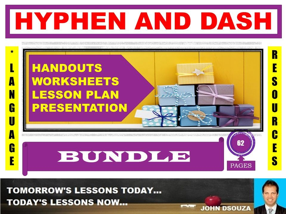 HYPHEN AND DASH BUNDLE