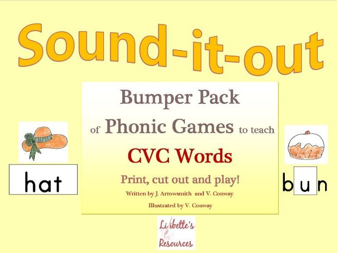 Phonic Games to teach CVC Words