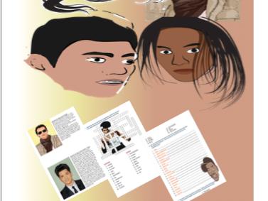 Las Celebridades del Mundo Hispano Full Spanish Lesson/Topic Materials