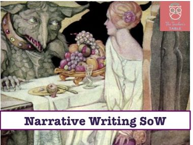 Narrative/Story/Creative Writing  SoW (24 lessons)