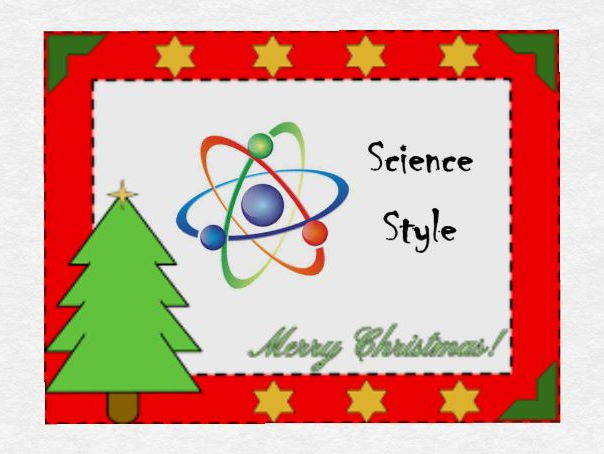 Christmas Song Parody- Science Style