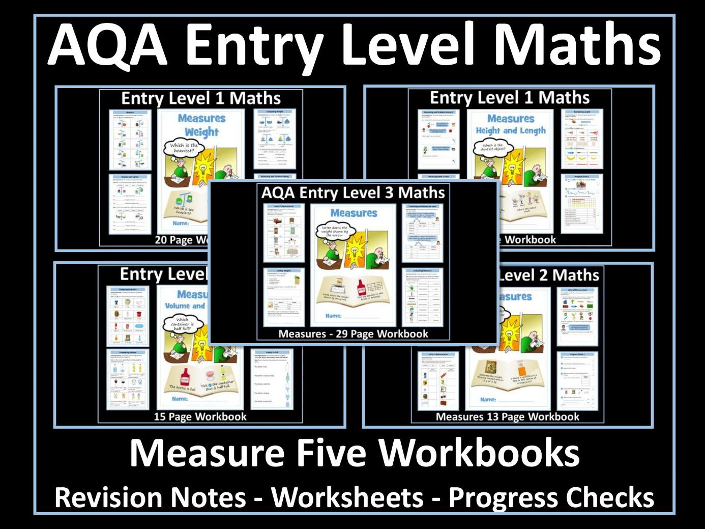 Measure AQA Entry Level Maths