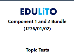 GCSE Computer Science 9-1 - End of Topic Tests - Component 1 & 2 Bundle
